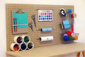 Craft Station on Wall