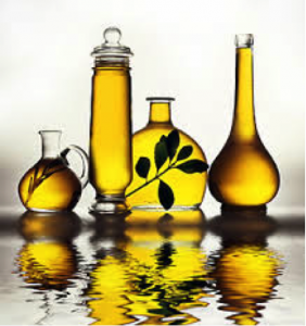Glass Containers of Cooking Oil