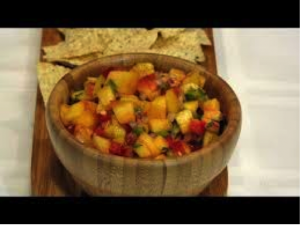 Cover photo for Peach/Pear Salsa Canning Class