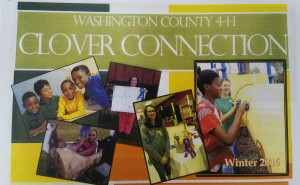 Cover photo for 4-H Clover Connection - Winter 2016