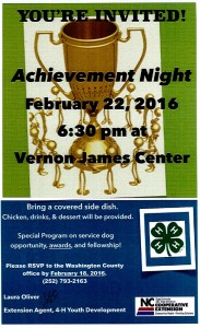 Cover photo for Join 4-H for Achievement Night!