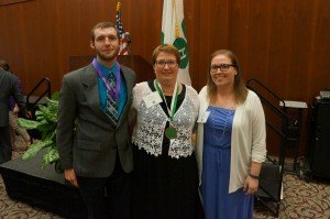 Cover photo for 4-H'ers Honored at State Congress