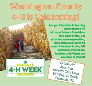 Cover photo for 4-H Night at Askew's Corn Maze