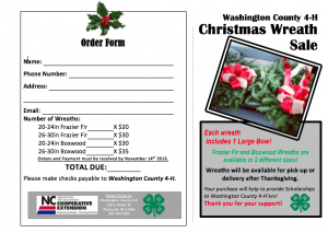 Cover photo for 4-H Wreath Sale Fundraiser