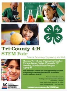 Cover photo for Sign-Up for the 4-H STEM Fair TODAY!