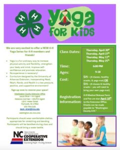 Cover photo for Use 4-H Yoga to Spring Into Healthy Living