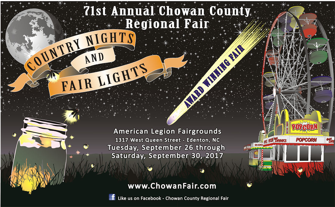 Cover photo for 2017 Chowan County Regional Fair -- Educational Exhibits