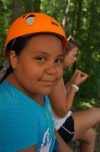 Cover photo for 4-H Camp Brings Youth Outside