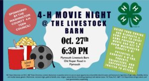Cover photo for 4-H Community Movie Night!