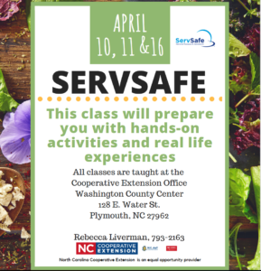 Cover photo for Spring ServSafe Classes