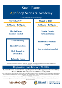 Small Farms AgriShop Series & Academy