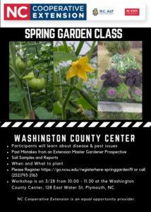 Spring Garden Class