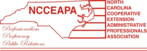 Logo for NCCEAPA in red