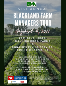 Cover photo for Blackland Farm Managers Tour - August 4, 2021